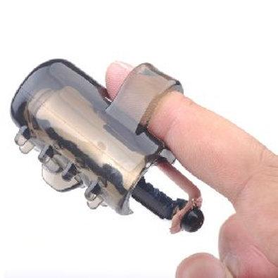 Black Color Finger Vibrator II