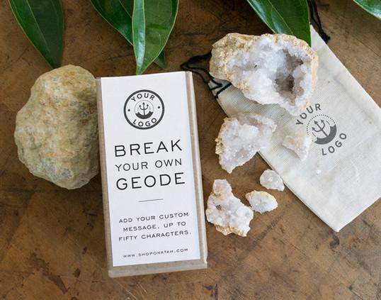 Break Your Own Geode Kit