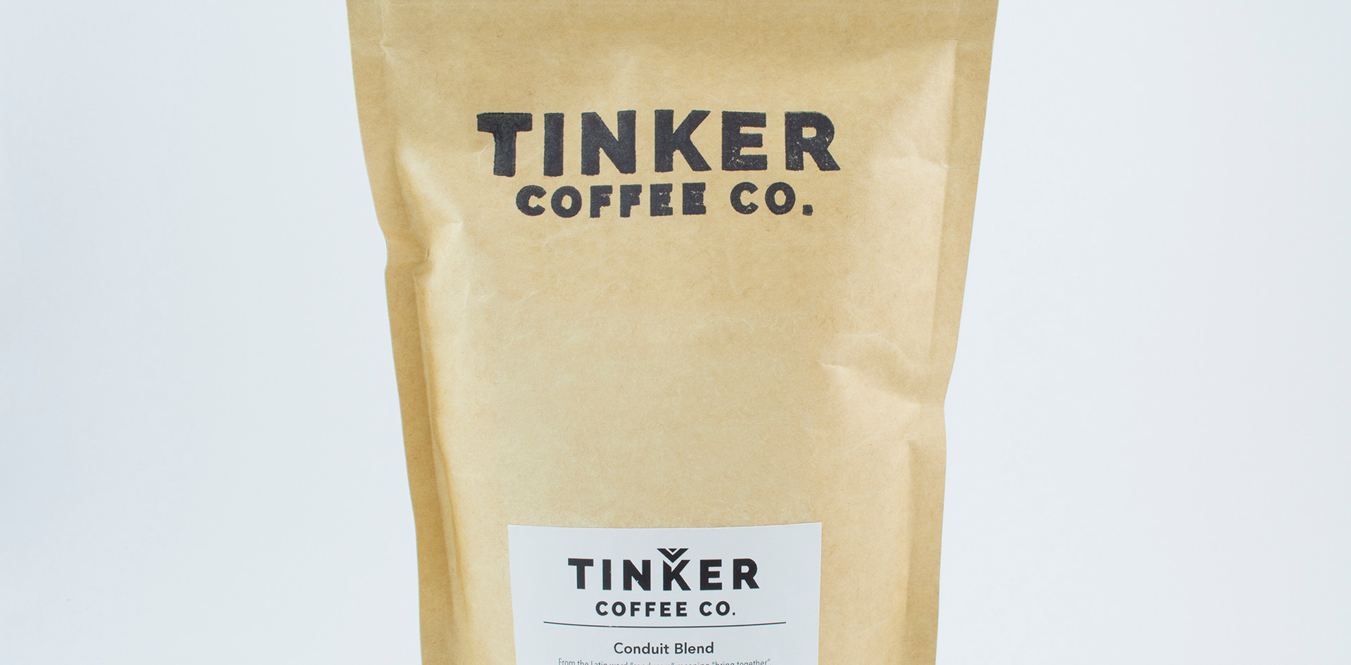 Tinker Coffee - 8oz back