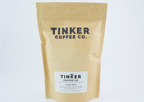 Tinker Coffee - 8oz back