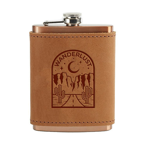 Oowee Leather Flask Wrap