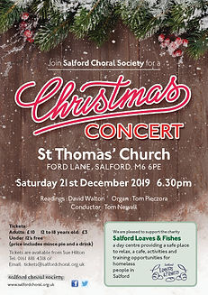 Salford Choral Christmas Concert