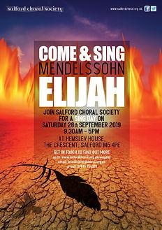 Salford Choral Sing Day Mendelssohn Elijah