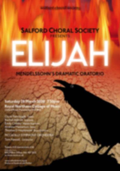 Salford Choral Elijah Concert