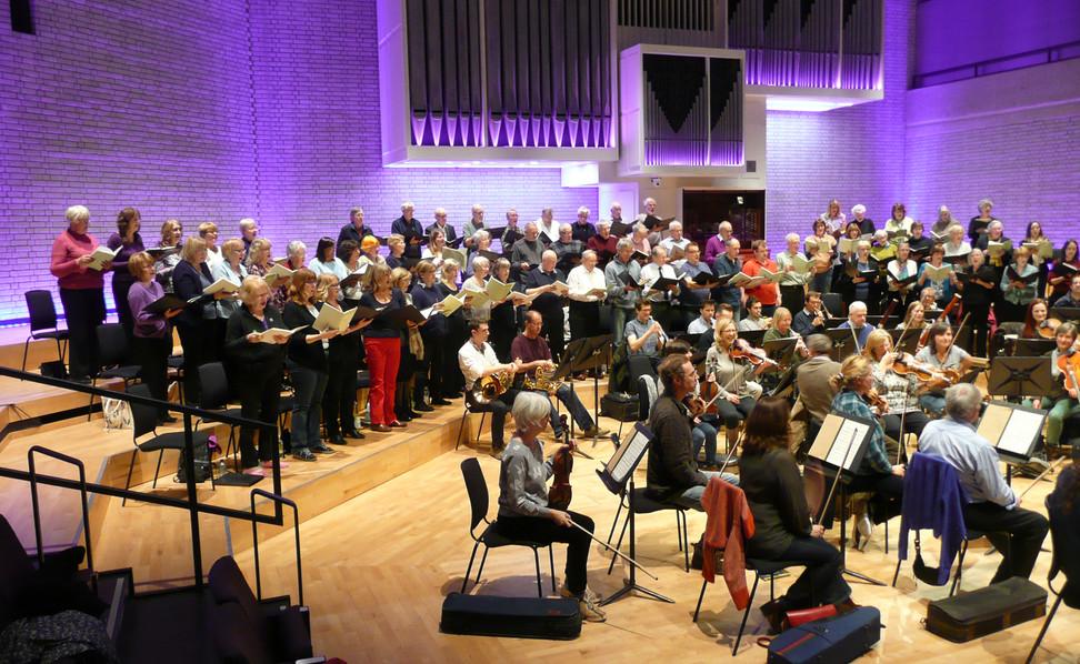 Mozart Rehearsal RNCM, 2016