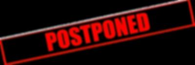 Concet postponed