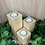 Thumbnail: Tea Light Holders (Set) - Natural