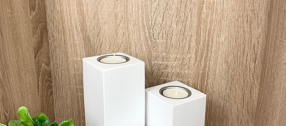 Candle Blocks (Set) - White