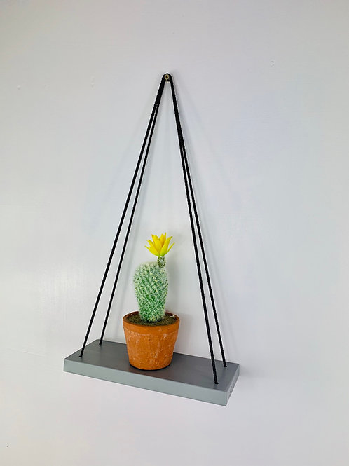 Single Tier Hanging Shelf - Grey