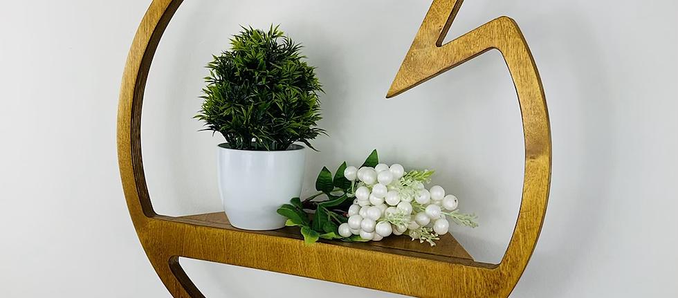 Accent Shelf - Light Oak