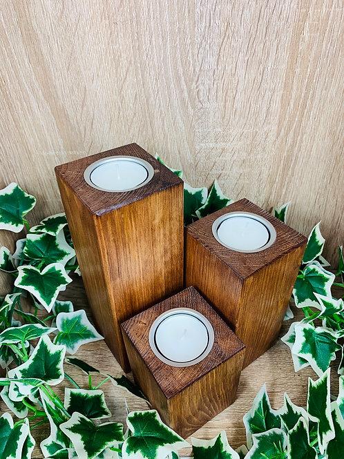 Candle Blocks (Set) - Dark Oak