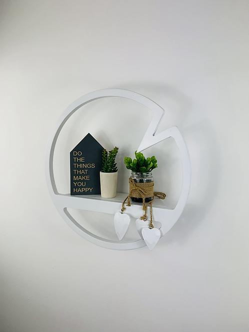 Accent Shelf - White
