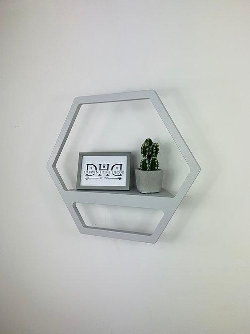 Hexagon Shelf - Grey