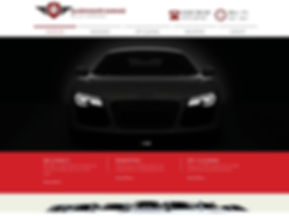 web design portfolio queensgate garage www.queensgategarageltd.co.uk