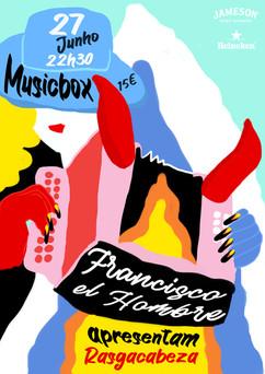 Francisco el Hombre at Musicbox