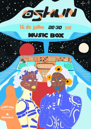 Oshun at Music Box