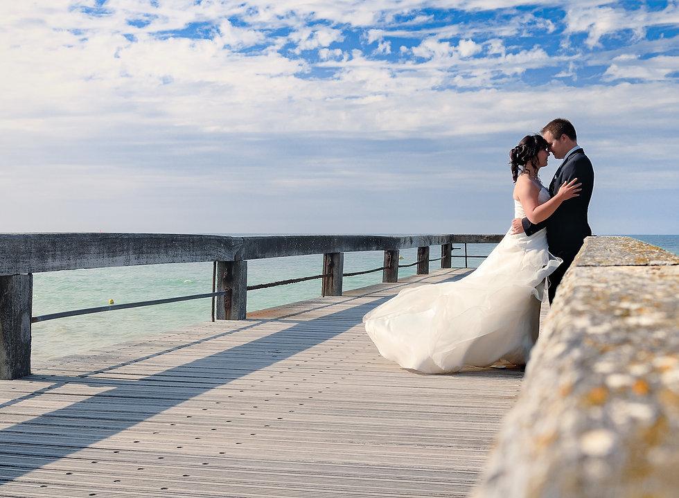 Mariés-sur-la-jetée