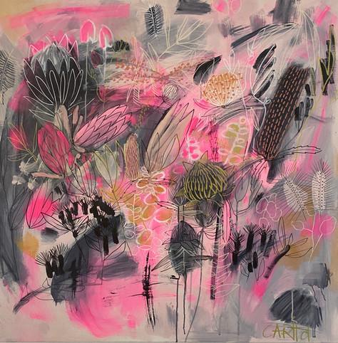 Carita Farrer Spencer_Punk Garden_100x100