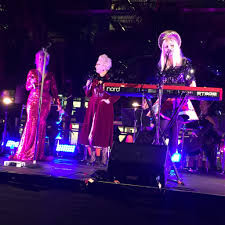 Carita Farrer Spencer, Naomi Price and Kate Miller Heidke live at CreateX Festival