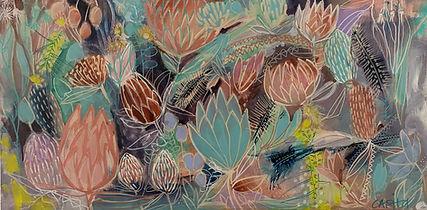 Tanja in Dream (commission) 50cm x 100cm