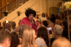 The Dame - corporate host / mc / entertainer