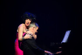 The Dame and Musical Director Steve Russell