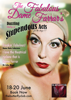 The Fabulous Dame Farrar Poster