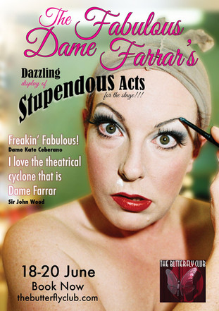 The Fabulous Dame Farrar Poster