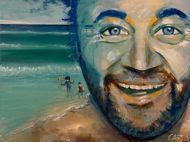 Portrait of Australian Actor Gyton Grantley