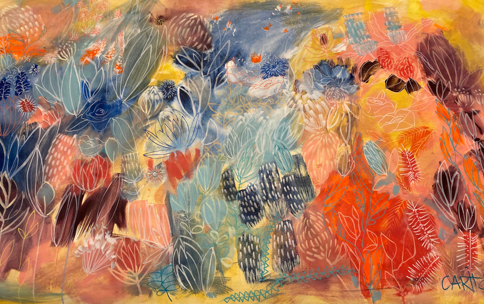 Carita Farrer Spencer_Megan's Oasis_Acrylic on Canvas 100 x 170cm.jpg