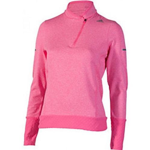 Adidas Sequencial Clima Heat Half-Zip Ladies Long Sleeve Top