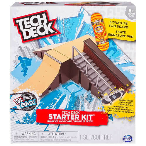 Tech Deck Starter Kid