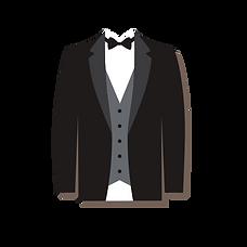 garnitur w paski
