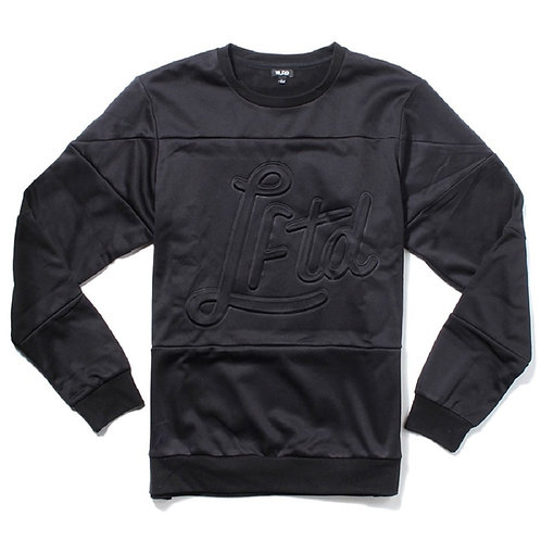 LRG Mens Slacker Crewneck Sweatshirt Black
