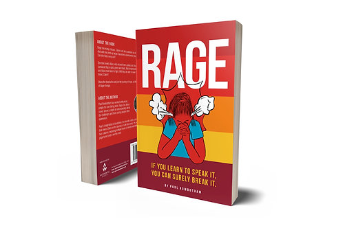 Rage by Paul Rowbotham (paper back)