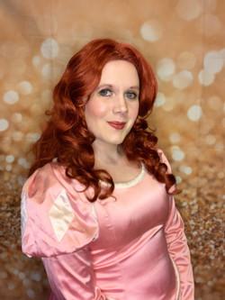 Mermaid Princess- Pink Dress