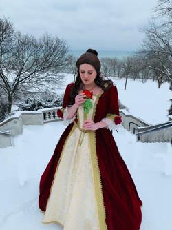 Rose Princess-Winter Dress