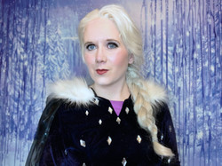 Snow Queen- Winter dress