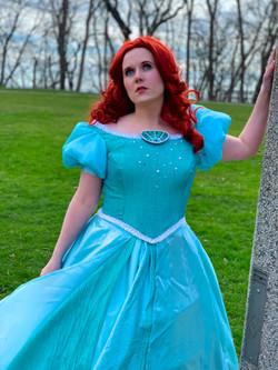 Mermaid Princess-Teal Dress