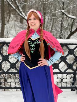 Snow Princess- Mountain Costume