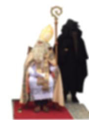 St.Nicolas et père-fouettard