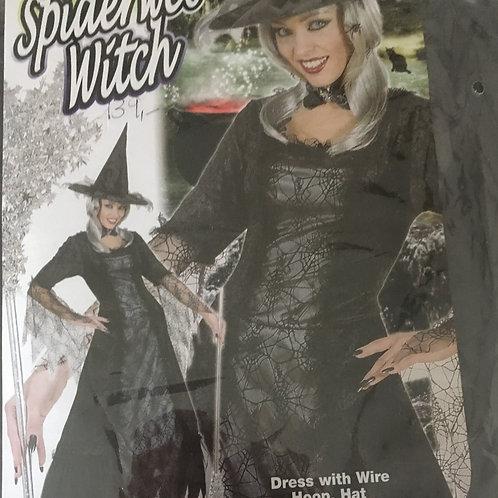 Robe de sorcière  avec chapeau Gr. M