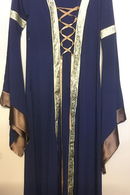 Robe médiéval bleue Gr.S