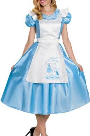 Robe Alice aux pays des merveilles Gr. 40