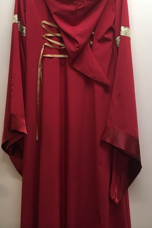 Robe médiévale avec capuchon Gr.M