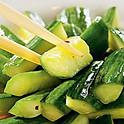 Салат из огурца с чесноком 250г