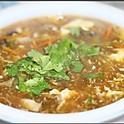 Кисло-острый суп с морепродуктами 400г