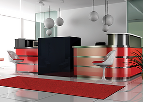karaat-red standaard schoonloopmat