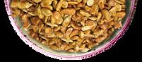 Bowl of Honey Rosted Sunflower Seeds CBD Hemp