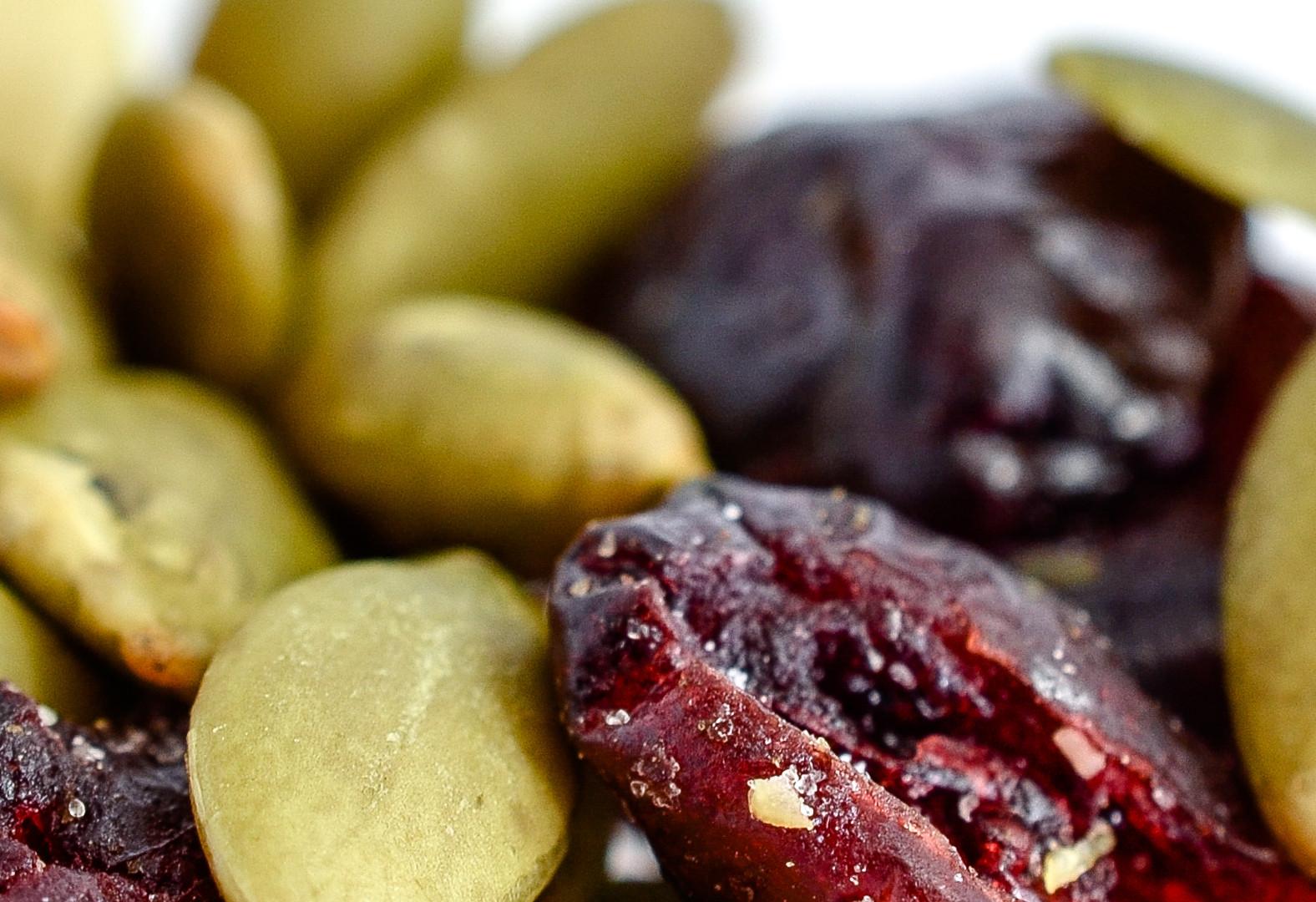 Roasted Pepitas & Dried Cranberries